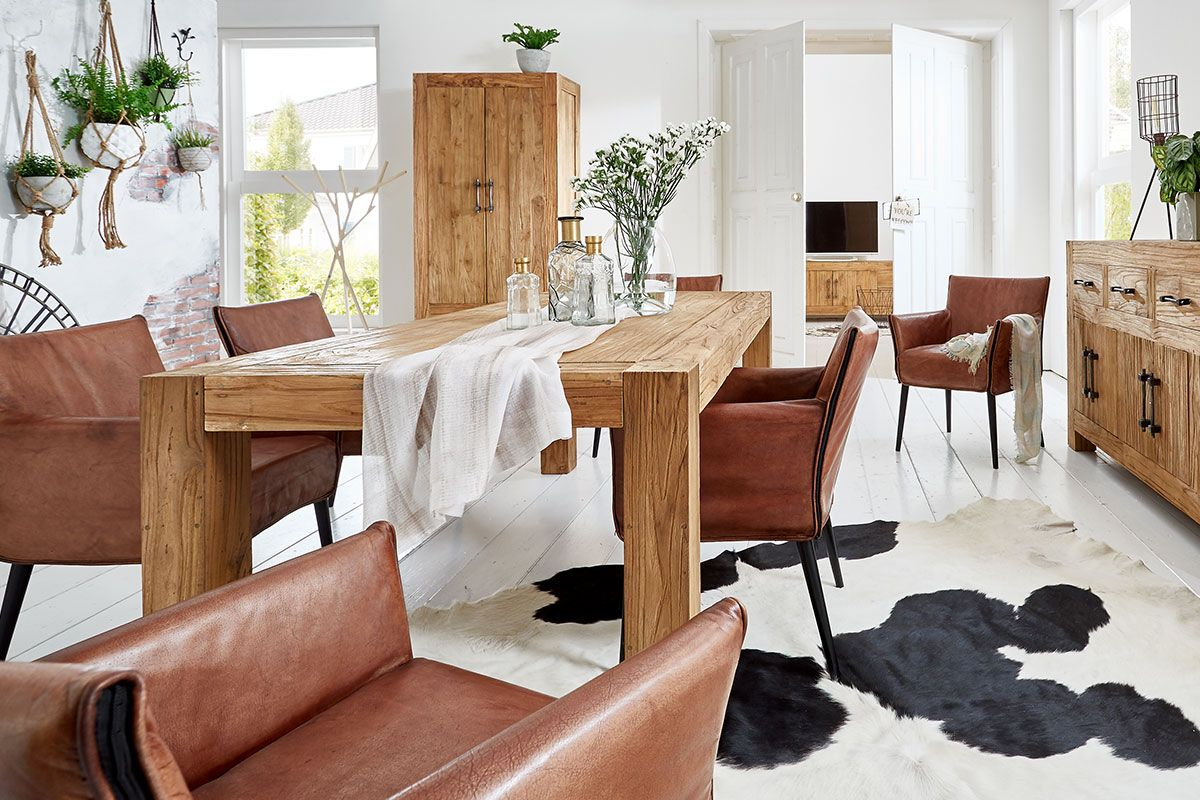 Teakholz Tisch klassisch Ambiente
