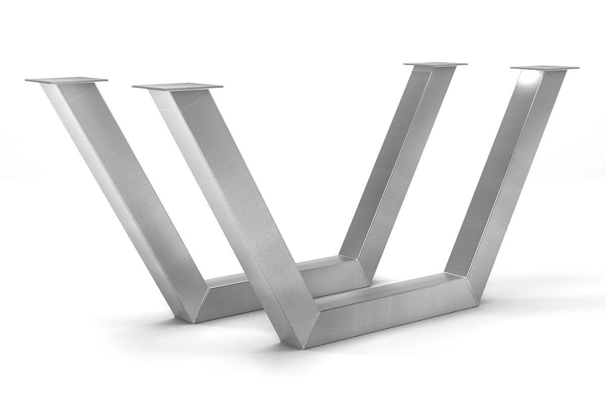 Edelstahl Gestell nach deinem Maß im zeitlosen Design gefertigt.