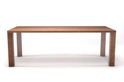 Masstisch Buche 4cm in astfreier Qualität mit Massivholzbeinen gefertigt.