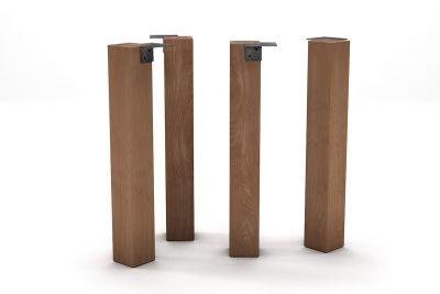 Holz Tischbein Buche nach deinem Maß und in massiver Bauweise gefertigt