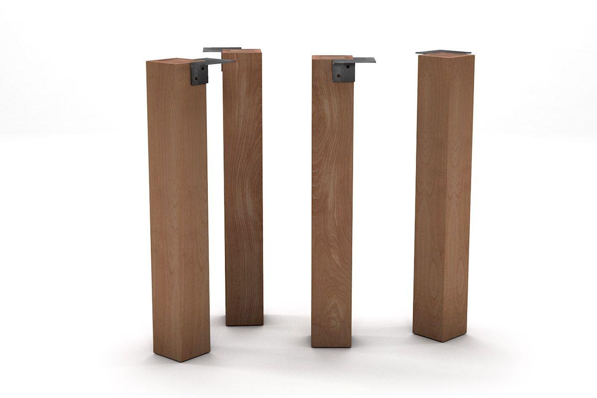 Holz Tischbein Buche nach deinem Maß und in massiver Bauweise gefertigt.
