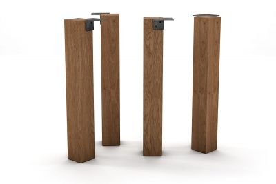 tischbeine massiv aus nussbaum nach ma holzpiloten. Black Bedroom Furniture Sets. Home Design Ideas