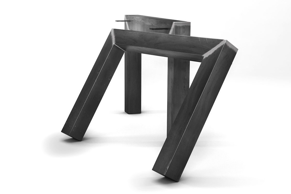 tischgestell metall nach ma holzpiloten. Black Bedroom Furniture Sets. Home Design Ideas