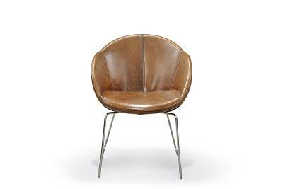 Stuhl modern Leder