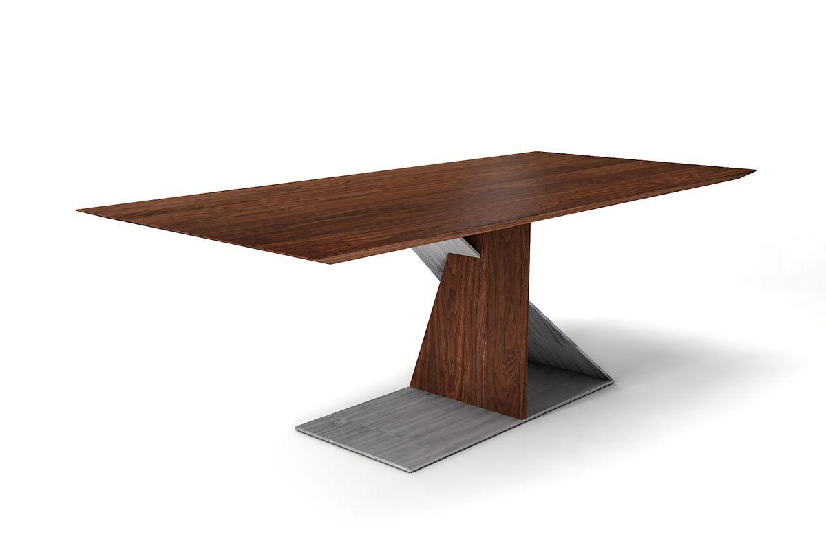 nussbaum esstisch schweizer kante nach ma holzpiloten. Black Bedroom Furniture Sets. Home Design Ideas