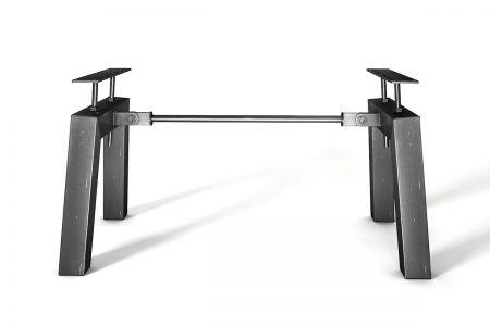 Konfiguriere ganz einfach dein Stahlgestell in verschiedenen Oberflächen.