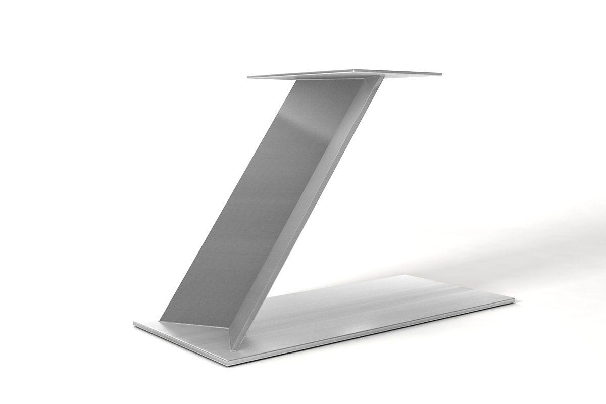 Edelstahl Gestell in stylischem Design nach Maß gefertigt, Modell CMP216.