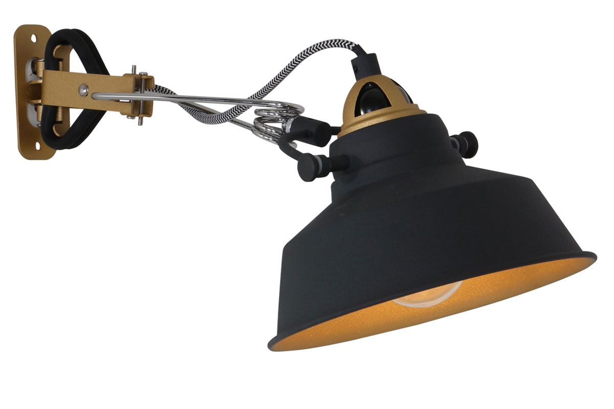 Moderne Wandlampe Metall