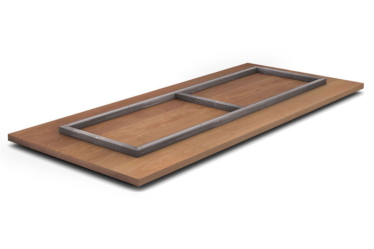 Unterstützungsrahmen für Tischplatten Schutz vor Durchbiegen