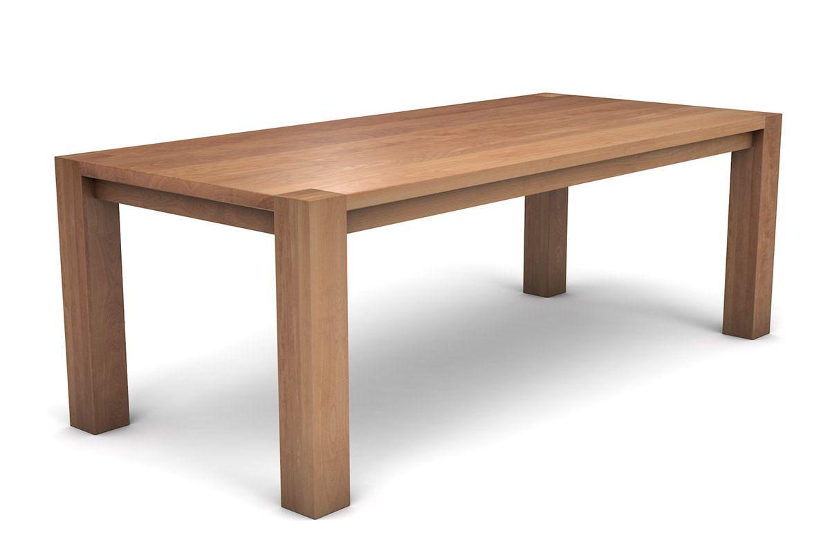 Holztisch massiv Buche im klassischen Design nach deinen Maßen gefertigt.