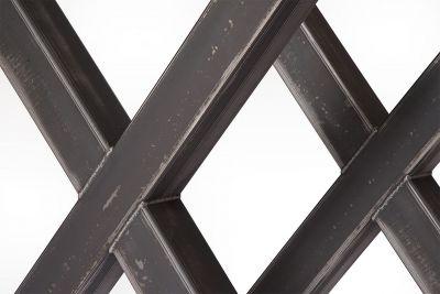 Tischgestell Stahlkreuz Detail nach deinem Maß gefertigt