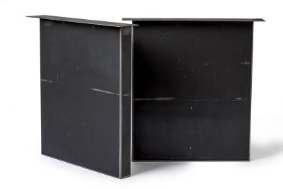 Esstisch-Wangen Stahl 2er Set auf Maß SXD9D