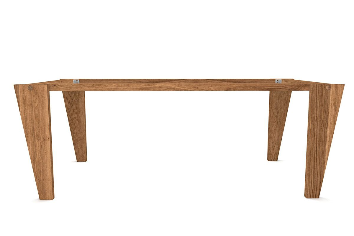 holz tischgestell selbsttragend nach ma holzpiloten. Black Bedroom Furniture Sets. Home Design Ideas
