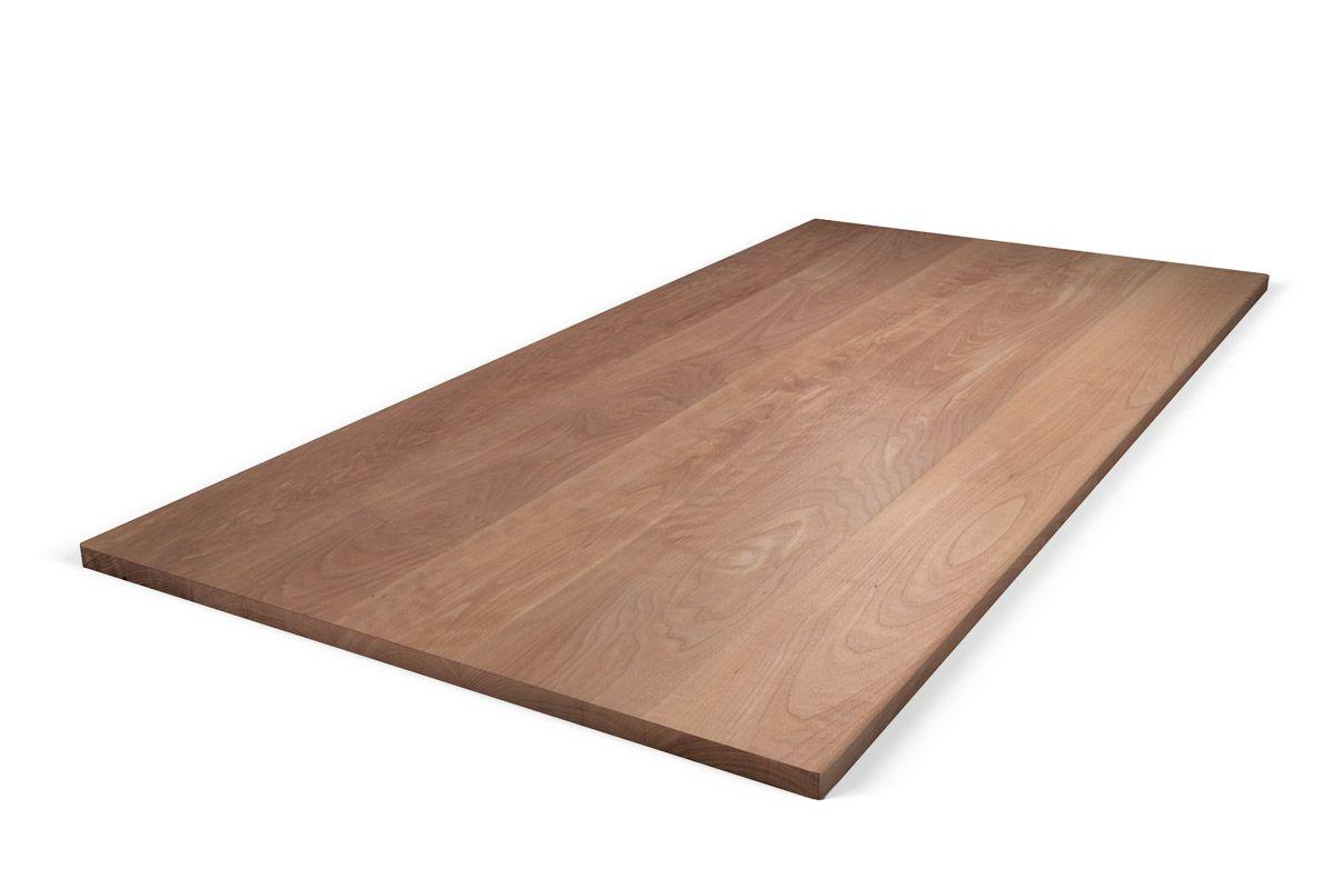 Tischplatte Buche massiv nach Maß astfrei