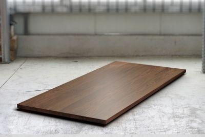 Nussbaum Tischplatte massiv nach Maß astfrei 4cm stark
