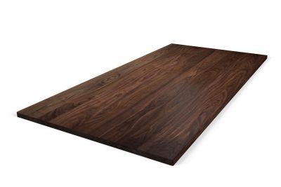 Nussbaum Tischplatte massiv nach Maß 4cm astfrei