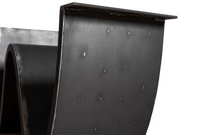 Stahl Tischgestell Wellenform in verschiedenen Oberflächen nach Maß bestellbar