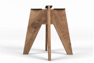 Holz Mittelfuß Gestell nach Maß im modernen Design gefertigt