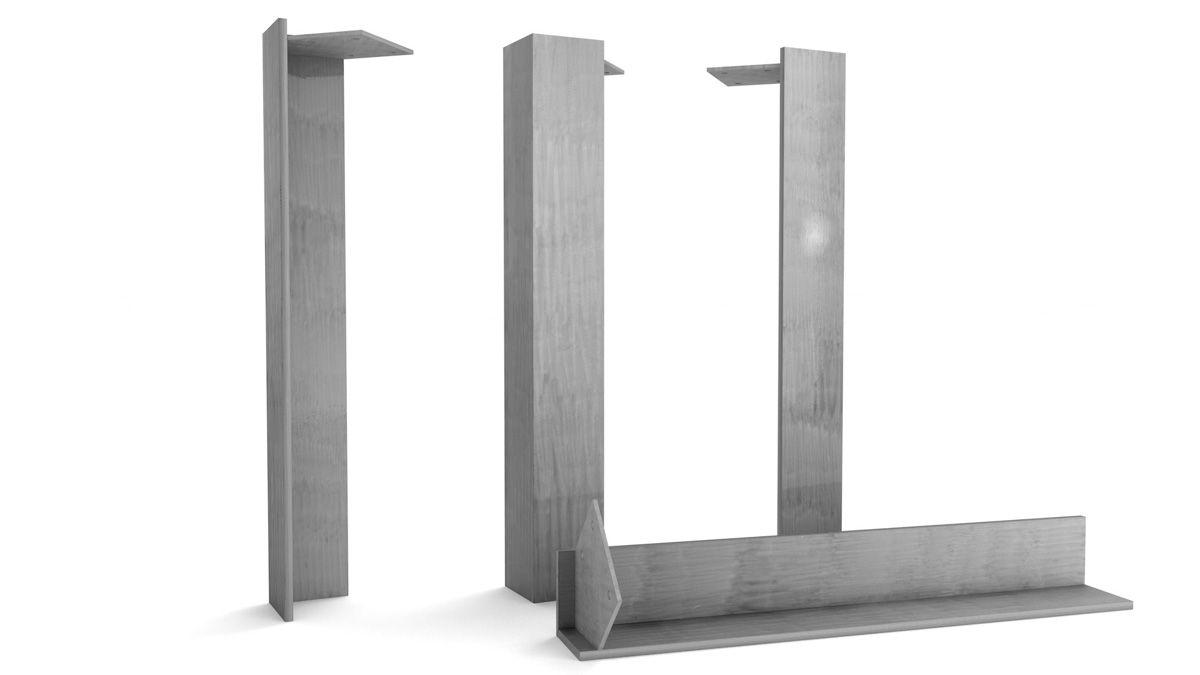tischbeine metall nach ma holzpiloten. Black Bedroom Furniture Sets. Home Design Ideas