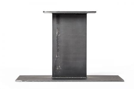 Flachstahl Mittelfuß Tischgestell aus purem Stahl nach deinem Maß gefertigt