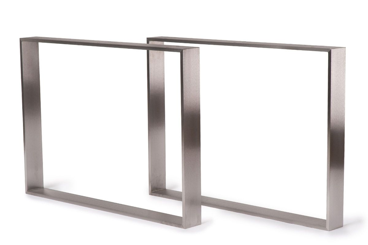 Kufen Tischgestell nach deinem Maß gefertigt in filigraner Ausführung