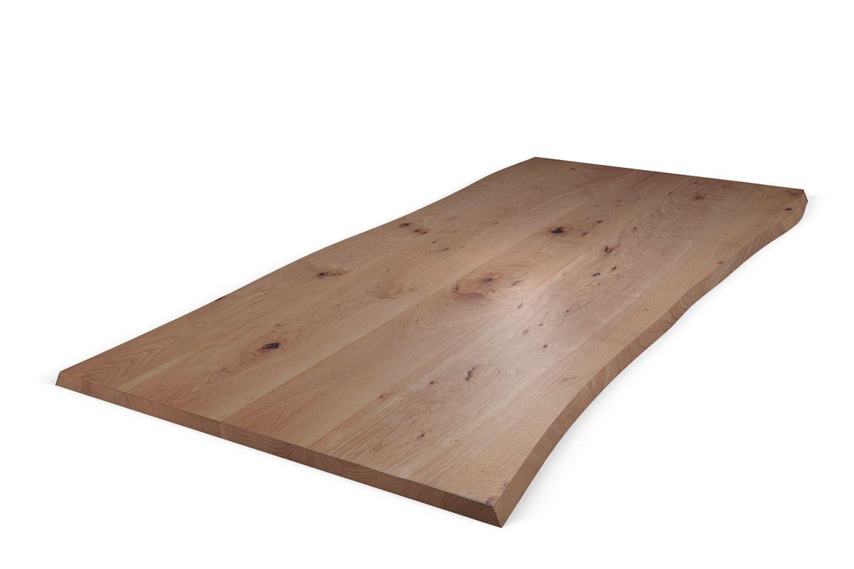 Massivholz tischplatte buche mit baumkante nach ma for Massivholz tischplatte