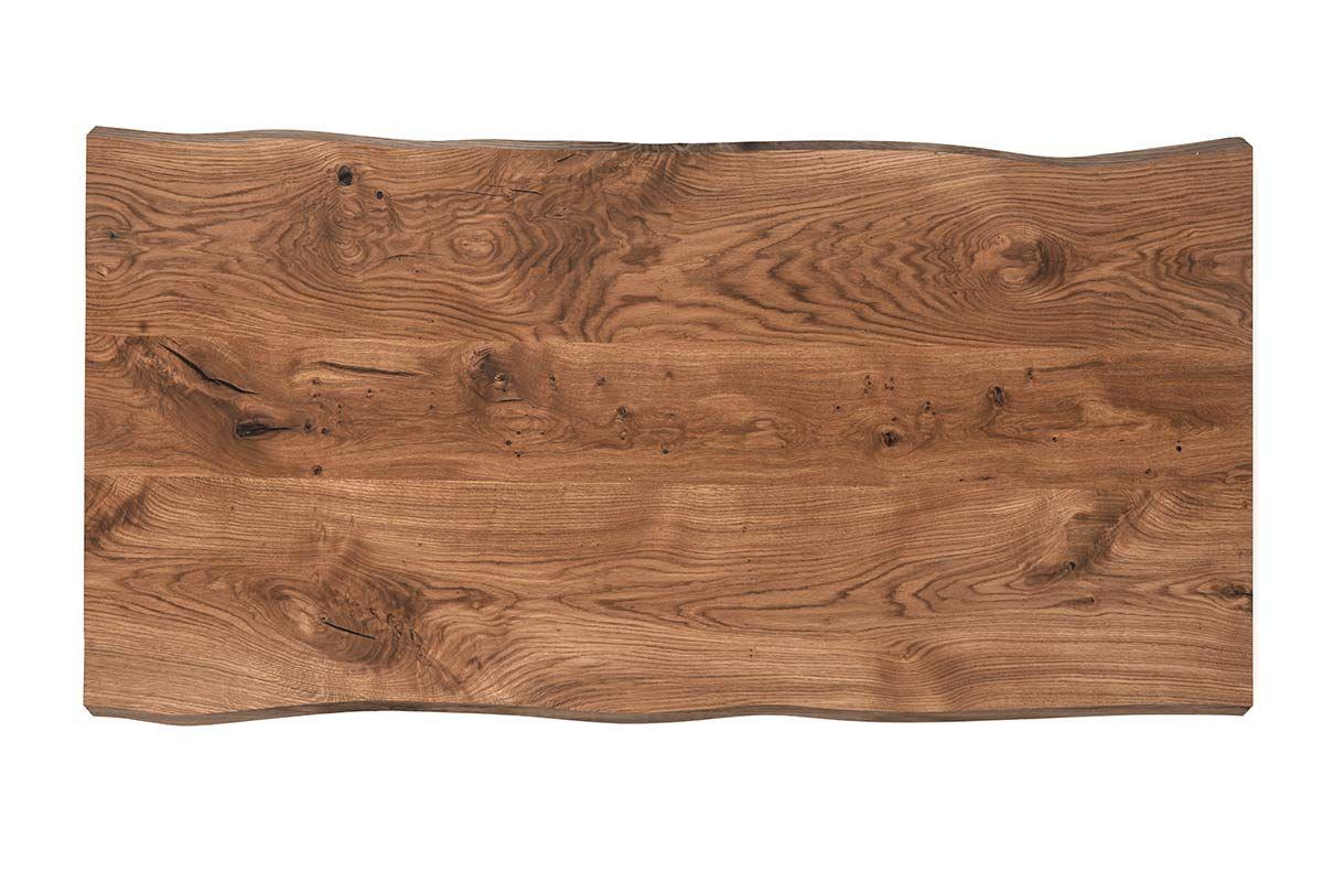 Tischplatte weiß nach maß  Tischplatte Eiche mit Baumkanten nach Maß [HOLZPILOTEN]