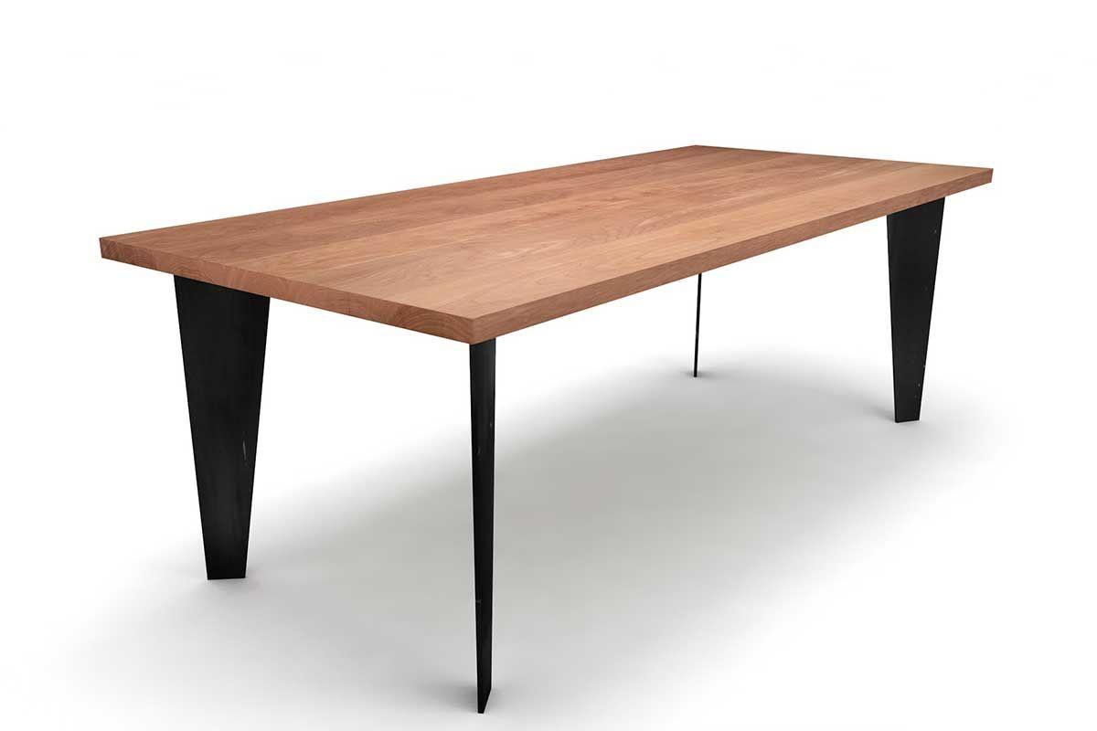 massivholz buche esstisch auf ma holzpiloten. Black Bedroom Furniture Sets. Home Design Ideas