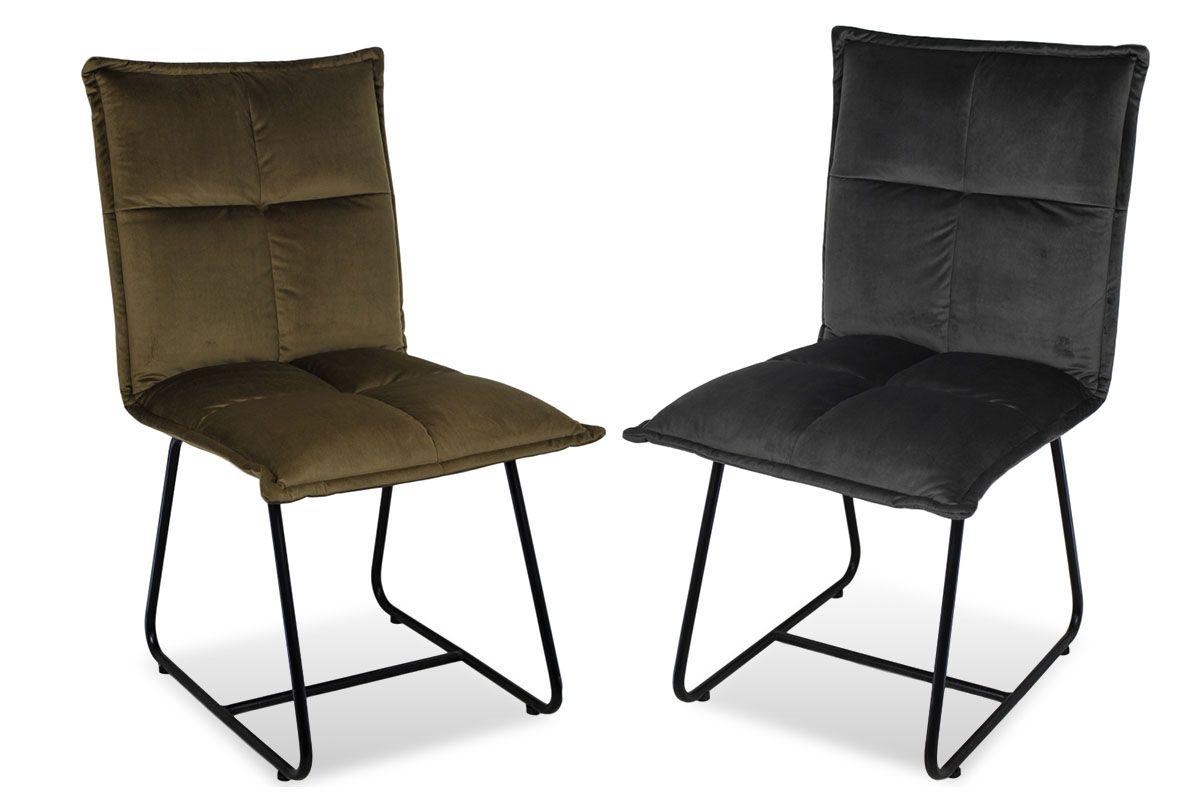 Stuhl gepolstert modern Vorderansicht