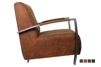 Lounge Sessel Edelstahl OYAB