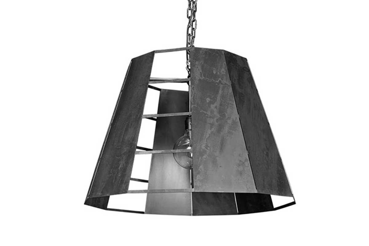 GOA Hängelampe Metall Industriedesign