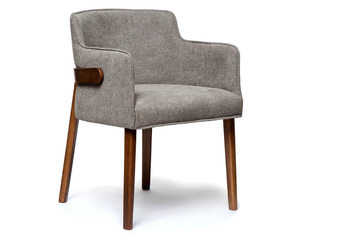 sessel modern mit stoffbezug holzpiloten. Black Bedroom Furniture Sets. Home Design Ideas