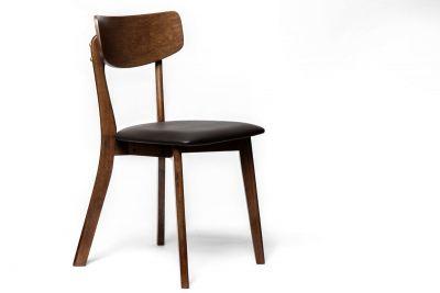 Moderner Stoff Stuhl B5 mit Holzbeinen