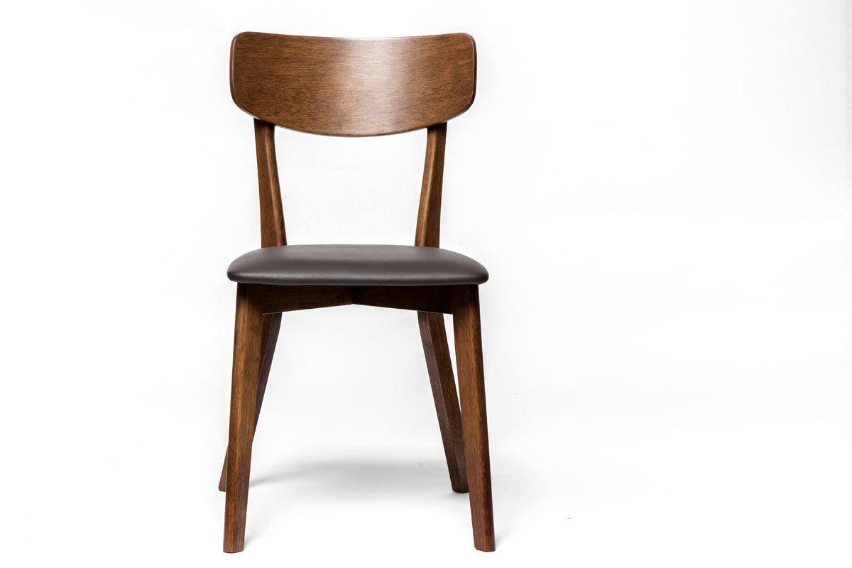 Holzstuhl mit affordable holzstuhl mit roten polster isoliert auf weiem hintergrund cartoon - Holzstuhl mit polster ...