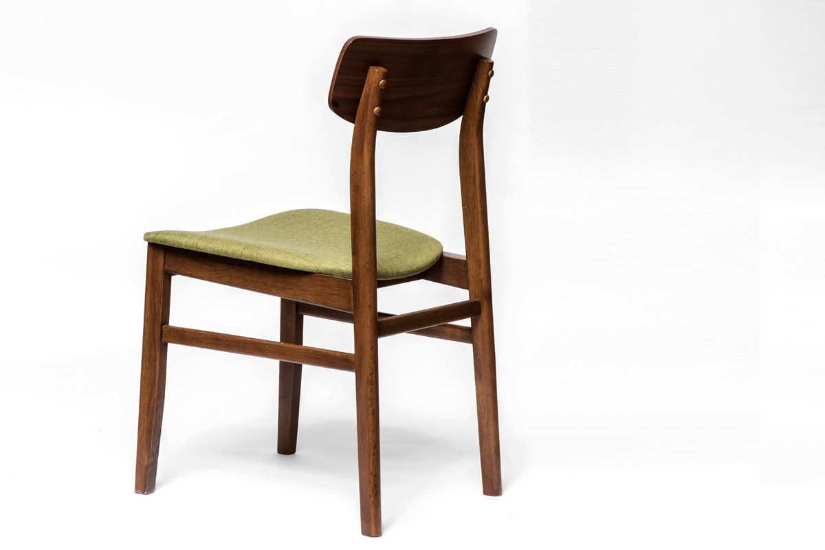 awesome anischt hinten esstisch stuhl aus holz mit stoff sitzflche with stuhl holz