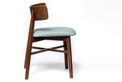 Klassischer Stuhl holz D5 mit Leder Sitzfläche