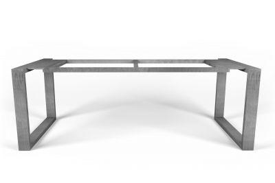 Demontierbares Tischuntergestell selbsttragend Stahl nach Maß gefertigt