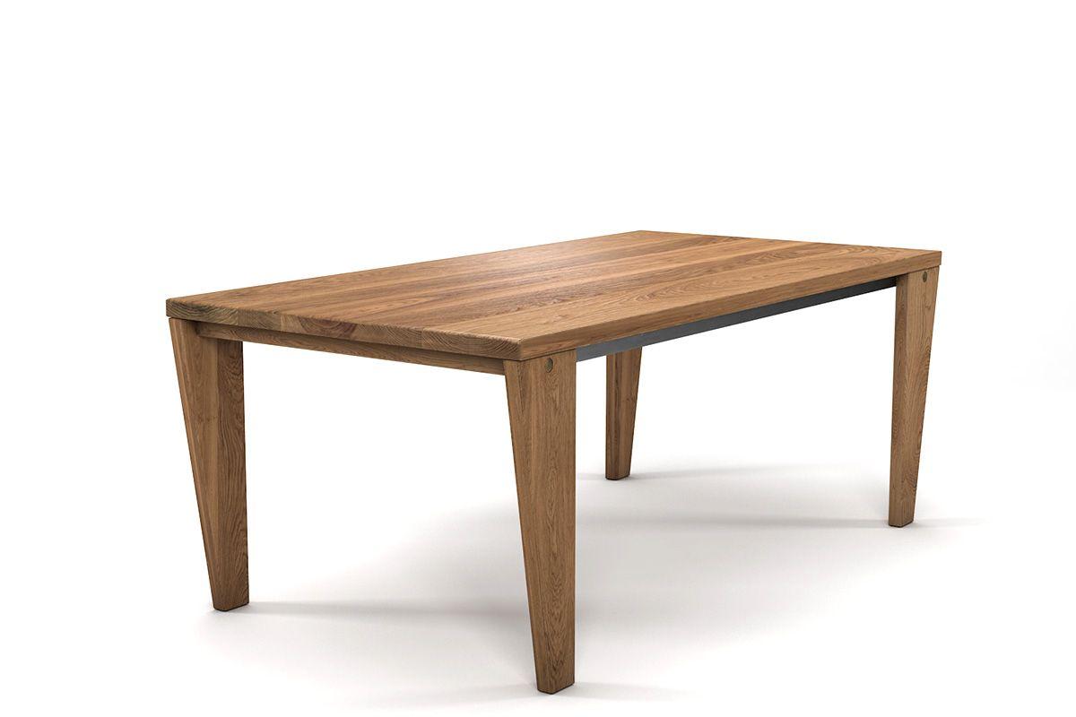 Massivholz Esstisch Eiche nach Maß in astfreier Premium-Qualität