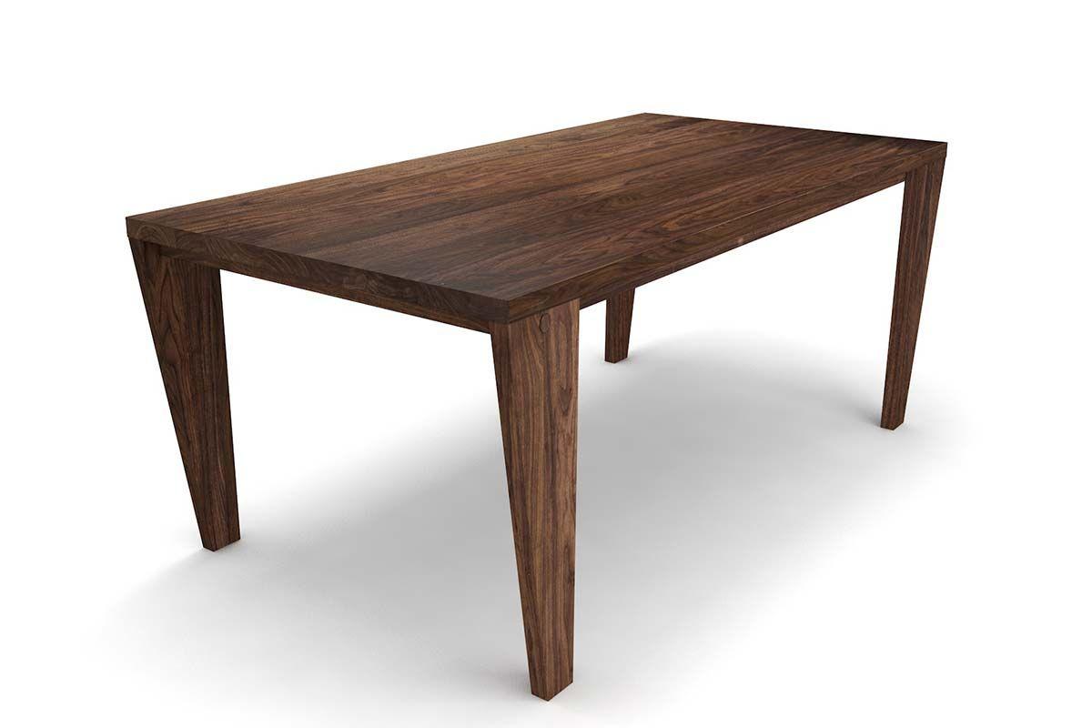 holztisch nussbaum massiv nach ma holzpiloten. Black Bedroom Furniture Sets. Home Design Ideas