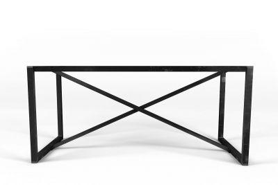 Zerlegbares Tischgestell aus Stahl nach Maß mit Querstreben für den perfekten Halt