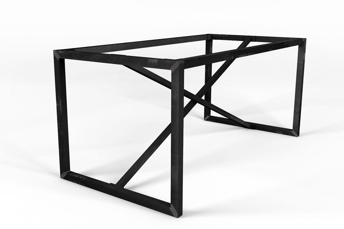 Selbsttragendes Stahlgestell auf Maß gefertigt in verschiedenen Oberflächen erhältlich