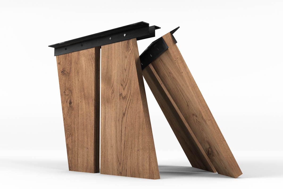 Holzwangen in massiver Ausführung und einem ansprechenden Design