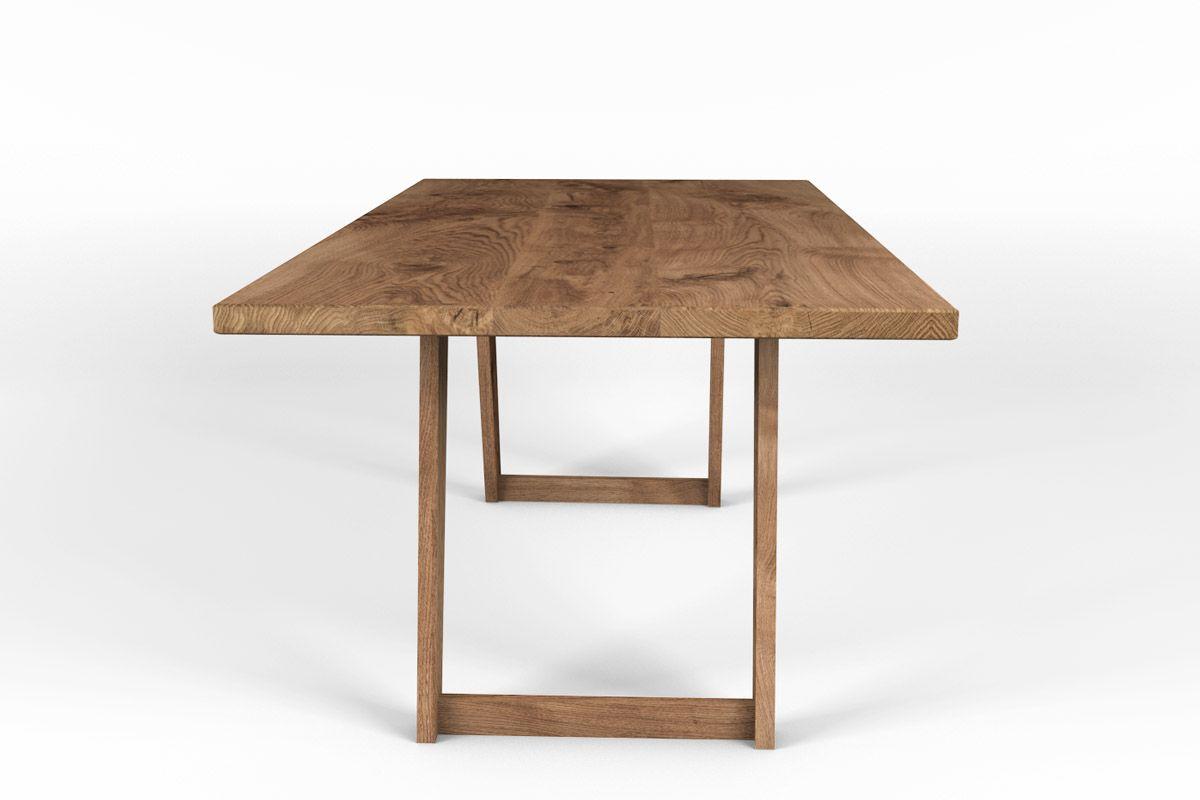 kufentisch eiche massiv nach ma holzpiloten. Black Bedroom Furniture Sets. Home Design Ideas