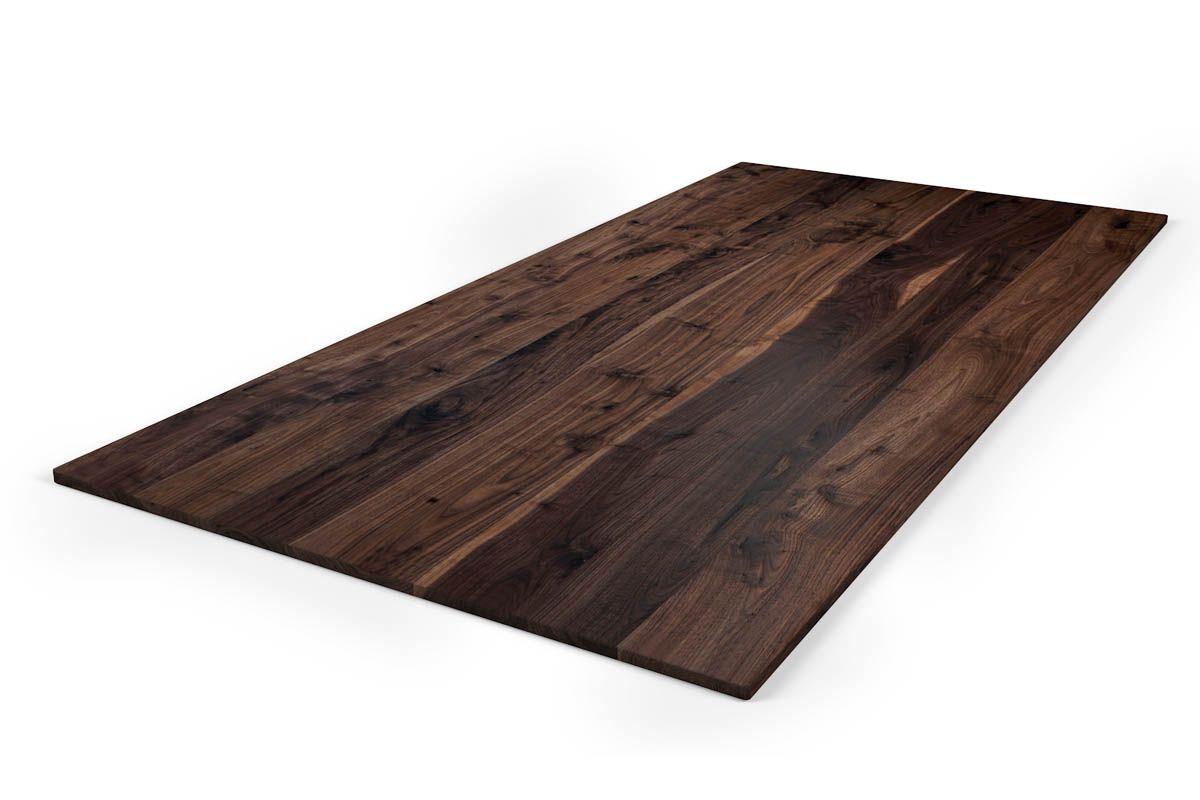 Holzplatte nach Maß Nussbaum 2cm