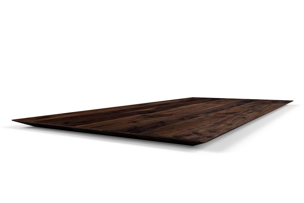 tischplatte schweizer kante nussbaum nach ma holzpiloten. Black Bedroom Furniture Sets. Home Design Ideas