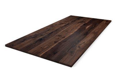 Holz Tischplatte Nussbaum auf Maß 3cm Ast