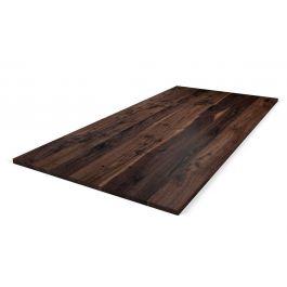holz tischplatte nussbaum auf ma holzpiloten. Black Bedroom Furniture Sets. Home Design Ideas