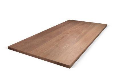 Buche Tischplatte auf Maß 6cm aufgedoppelt astfrei