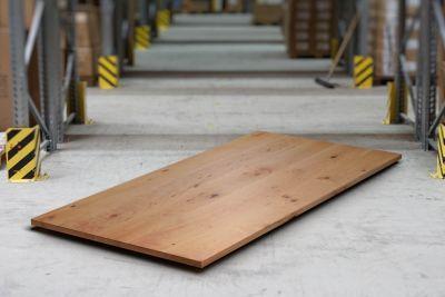Buchen Tischplatte mit Ast - und Splintholzanteil