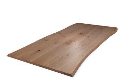 Baumkanten Tischplatte Buche 3cm Ast